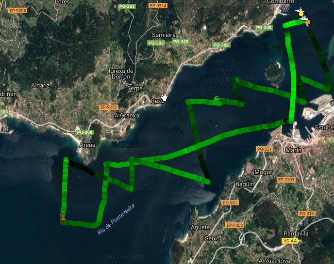 I Regata Combarro Cruising Sails – Del desastre total al bronce.